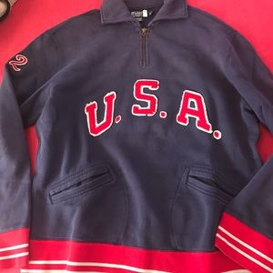 Polo Ralph Lauren USA Quarter Zip